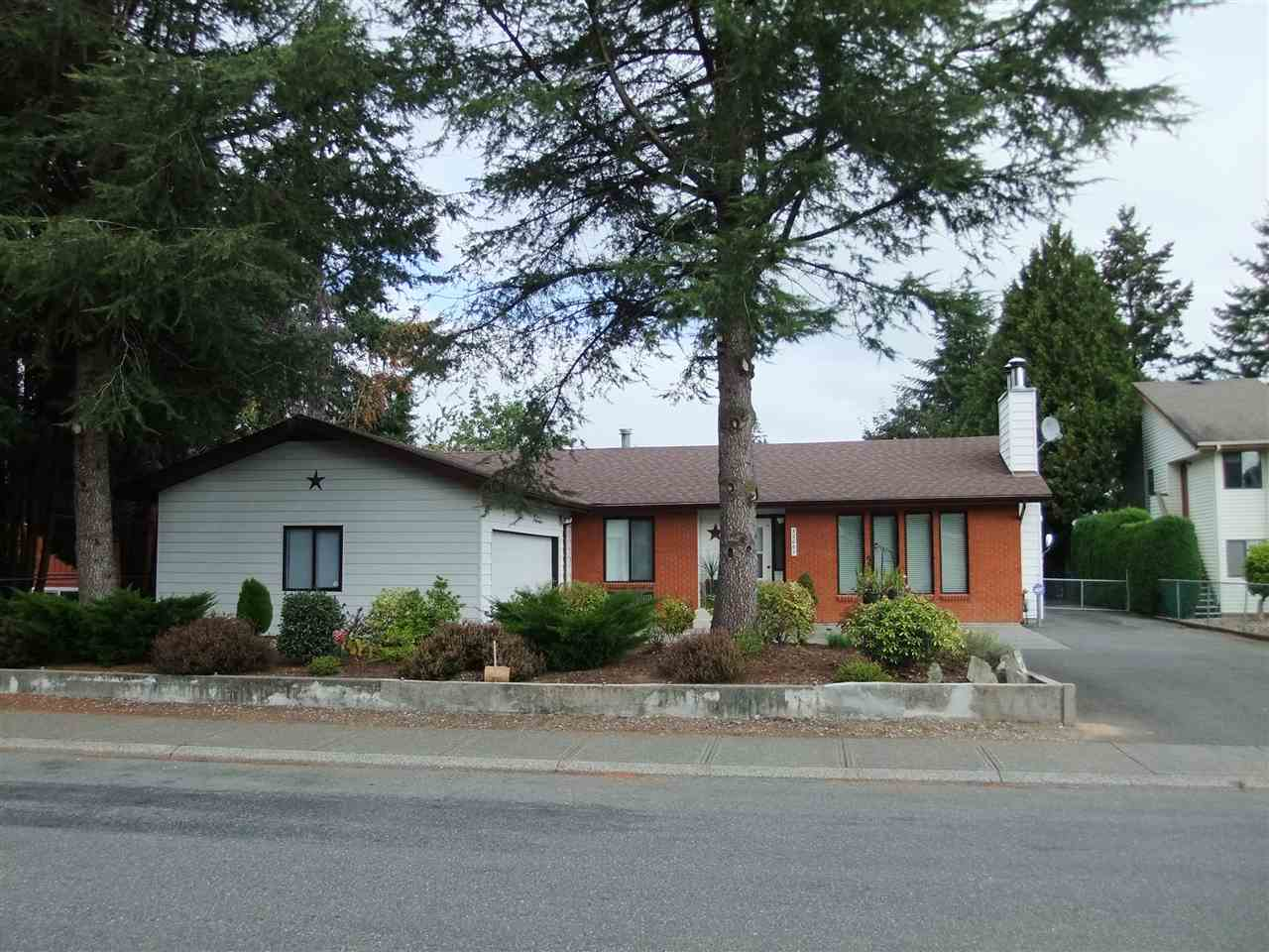 Seller has met with the City of Abbotsford. OCP indicates RML Zoning possible when combined with neighbouring property. RML Zoning allows up to 6 storey building with underground parking and possibility up to 90% building footprint calculation. Purchaser to make their own inquiry with the City of Abbotsford. Water, Sanitary + Storm Sewer at front of property line. No sign on property. House has another double garage in backyard (25'x21')