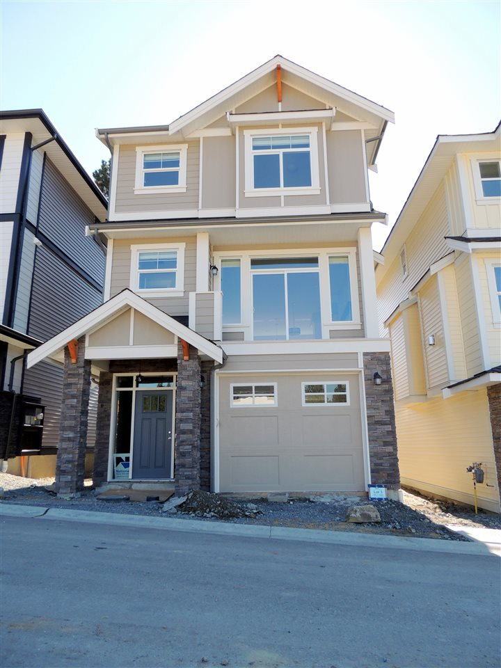 Sunspring Estates - Brand new subdivision in East Abbostsford! Located on a  quiet cul-de-sac in the complex. A good mix of different sized low maintenance lots. Luxurious finishing's throughout. Basement entry home features a double tandem garage. Open main level with flow between kitchen, dining, and living spaces. Designer kitchen featuring large island, eating bar, and quartz counter tops. Cozy gas fireplace in the living room, great for the fall! Master bedroom upstairs offers walk in closet and a 3 piece ensuite. Great covered sundeck off kitchen over looking the backyard. This property is exempt from the 15% Foreign Buyers Tax! VIEW HOME.