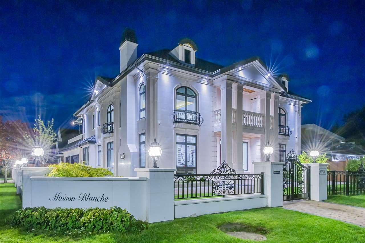 Unique White house on large CORNER lot at Riverdale! This is a luxury modern house that you cannot find in elsewhere. High End custom quality shows in every details of the house. Smart home automation system installed which controlled by smartphone. Functional layout for front &back yard, extra large outdoor sundeck, 5 bedrooms and 5 + 1/2 baths, with den and special media room. This deluxe mansion features outstanding finishing, extensive crown moulding, high ceiling in grand foyer & living room, elegant crystal lighting, large kitchen with high-end appliances. Radian heating, air-conditioning system, HRV, 2/5/10 warranty. Top school catchment: Walking distance to Thompson Elementary & Burnett Secondary. Open House Sat / Sun 2:00 - 4:00. Video at https://youtu.be/t-QhXgSt_o8
