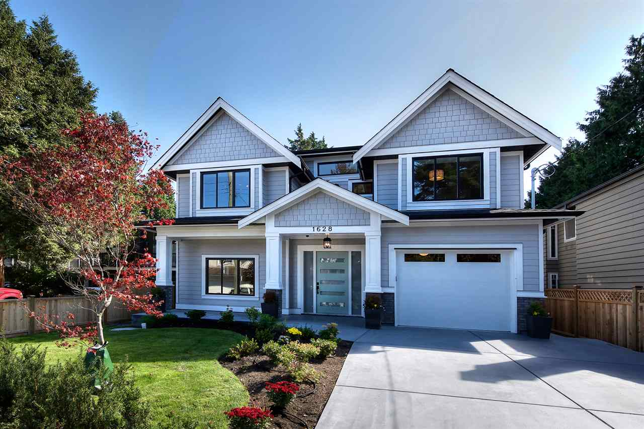 Custom Built Brand New 4 Bdrm Home in the Heart of Beach Grove.  Beautiful Grand Entry with stunning Feature Staircase immediately singles out this home as being the best New Build in the area.  Grand Open Space with an Exclusive Modern Kitchen -Laquer Custom Cabinetry, Quartz Italian Ledgestone & modern Bosch & Fischer Pykel appliances.  Grand Room for living space & dining, separated by Floating Ceilings.  Beach Wood style wood floors  throughout entire home (3 Bdrms-high quality Wool Carpet).  Mstr Bdrm has Vault Ceilings &  stunning Spa Bath + 2 more Full Baths up.  Extras incl. Radiant infloor on both levels, Jacob Ladder to Storage w/windows, Outdoor Studio, Landscaping & Tandem Garage, Security System, Sound System Inside & Out.  Experienced builder & high quality detail & finishing