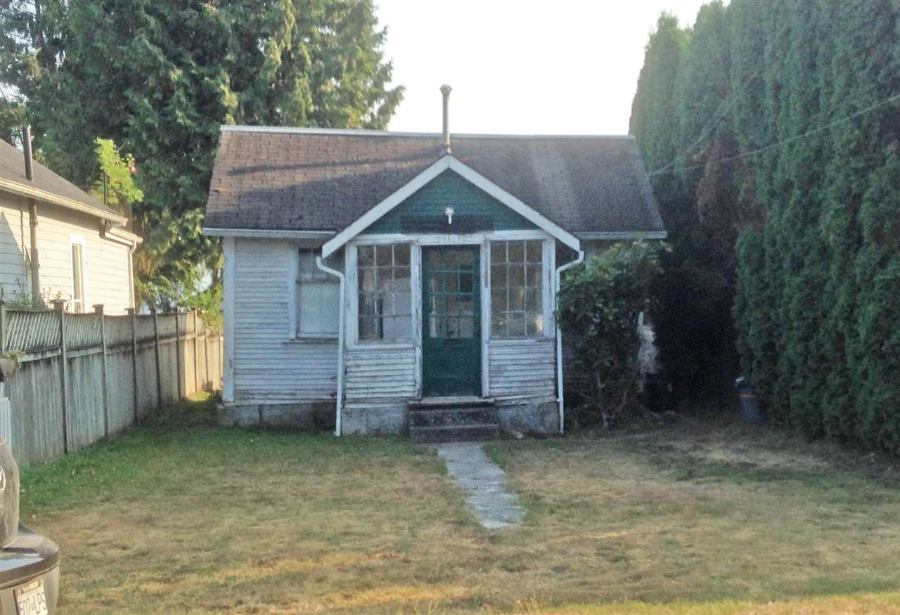 """Sold As Is"" !!! Mainly land value only. Small one bedroom home not on a proper foundation."