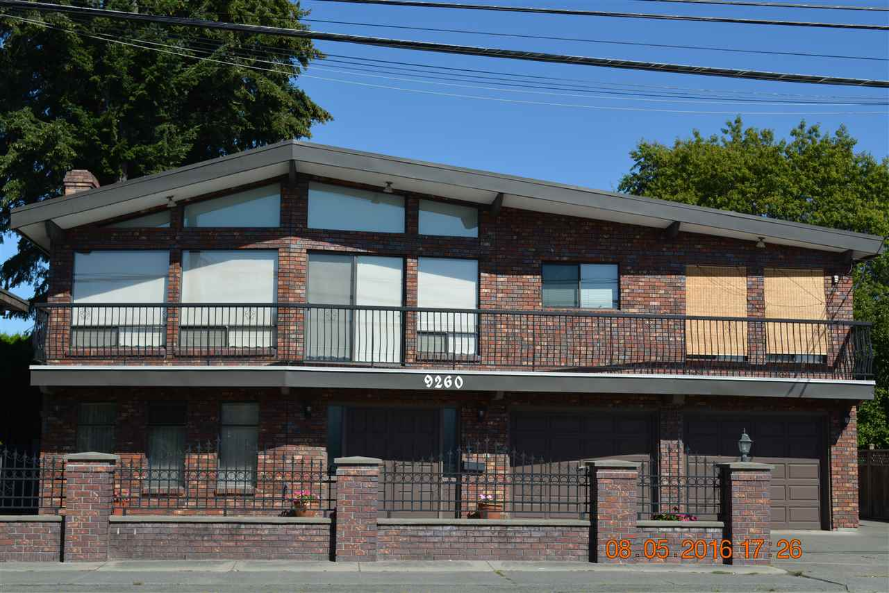 Investment/Development opportunity. Potential future townhouse development. Solid 2 level house w/ lot's of updates. Very well kept, over 3600 SF house on 9300 SF lot. Features 3 bedrooms and 2 full baths up. All H/W floors, Spacious L/R, D/R, F/R, Rec Room and Huge covered deck. Updated kitchen, 2 bedrooms and one bedroom suite down with separate entry. Updated roof, sundeck, boiler, hot water tank and more. Just move in, steps to schools, park, shopping plaza & transit. Call for your private viewing.