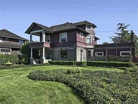 Beautiful 1907 restored Arts & Crafts style 6 bdrm, 3.5 bath, 5763 sf, 3 lvl + bsmt located on lovely Queens Ave in Queens Park area close to schools, parks, shopping & Skytrain. Winner of the 1996 Heritage Shield Exterior Restoration Award, this home features high ceilings, spacious & bright rooms, wood floor & moldings, leaded & stained glass, 2 gas f/p's, radiator hot water heat & antique lighting. This one-of-a-kind home has a 2 yr old kitchen w/ white cabinets, granite counters, big island and SS applics. Upstairs has 3 bdrms, large Mstr/bdrm w/sunrm & 5 pc cheater ensuite w/claw foot tub & glass shower. Attic level has another bdrm & den, bsmt has 2 bdrm reg suite. 66' x 163' (10,764 sf) lot, priv yard & dbl garage. *OPEN HOUSE SAT NOV 18TH 2-4PM*