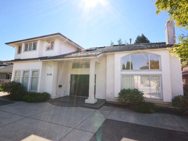66? x 120? Lot with sunny south backyard.  4,210 sq? custom-built 5 ensuited bedrooms + nanny room + recreation room & open den.  4� baths.  Gourmet island kitchen plus German Gaggenau gas wok kitchen.  Large 494 sq? double garage in back + 4 more open parking.  Front circular driveway for easy entry & exit.  Convenient 2-way stairway from elegant front foyer & family room.  750 sq? huge master bedroom suite has big walk-in closet & spa like ensuite.  9? ceiling on main, concrete upper floor, brand new metal roof with life-time guarantee, efficient hot water heat, HRV & vacuum system.  Bright, spacious & clean; add your own flooring, paint, kitchen & bath reno ideas & it?s going to be your dream home for serious entertainment or 3-generation living.  Great price (a same lot size, land-value-only listing with north backyard, on same street, just sold in June at $2,160,000 for new home to be built).  Why build?