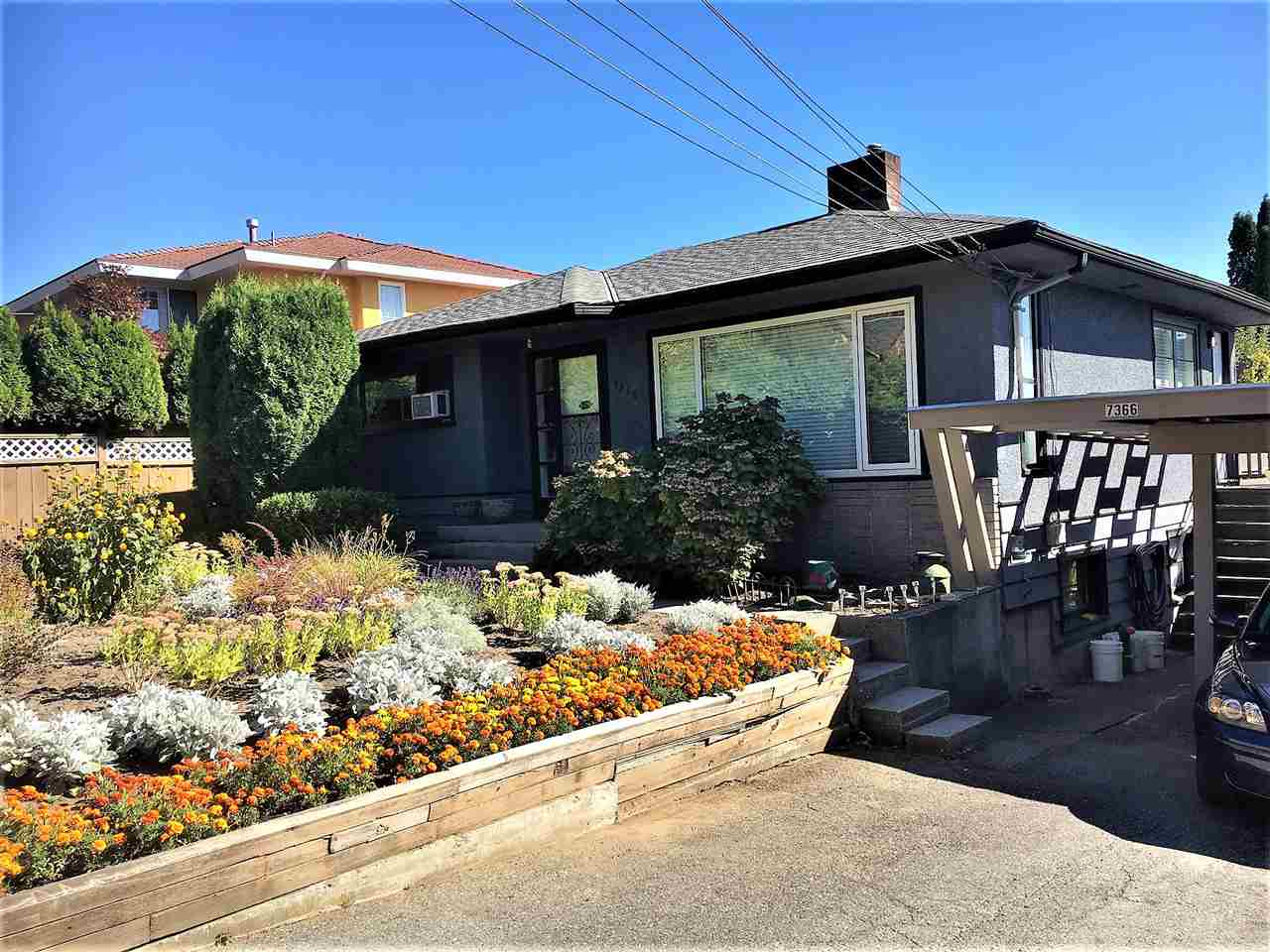 "LARGE VIEW PROPERTY. (105 x 108 Lot) with Lane Access, Hold and Build your dream home here! Excellent location within minutes to Sperling Skytrain Station. House is very liveable and the basement is roughed-in and has suite potential with separate entrance.  Seller planned to renovate and update the interior when tenant vacates property. Don't miss this one. All meas approx. Dial ""0"" if Voicemail is on."