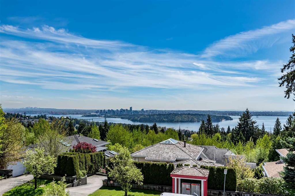 SWEEPING 180 DEGREE VIEWS OF THE CITY, OCEAN AND MT. BAKER. Situated on this beautifully landscaped, safe and quiet cul-de-sac in the prestigious Chartwell area of West Vancouver is a perfect house for those who want the STUNNING VIEWS but low maintenance. This location is just perfect...walking distance to Sentinel Secondary/Chartwell Elementary and minutes from the highway and city centre. Don't let the size of this lot fool you, it shows much bigger than what it is! And who says bigger is better? This bright and spacious well kept home is just enough space with 4 BD/4 bath with a beautifully landscaped front and back backyard. Features include radiant heating, AC, newer roof and furnace.