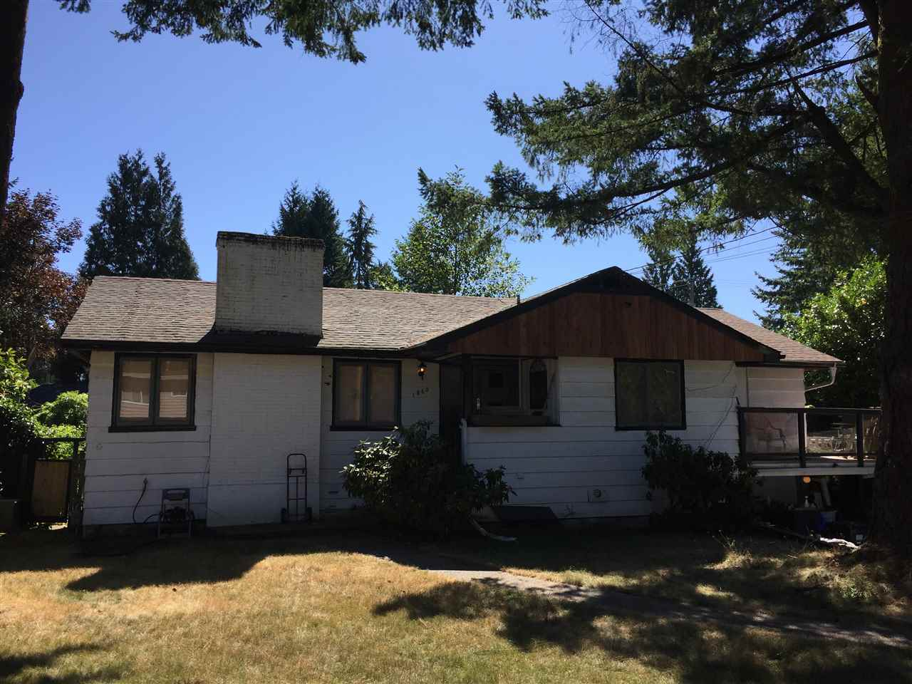 Investor and Builder ALERT !!! Renovate or Build your dream home in one of the most desired neighborhoods in North Vancouver. Short walking distance to Canyon Heights Elementary and Handsworth Secondary School. An outstanding place and neighborhood to raise a family. Open House Sunday Nov.19th from 2pm to 4pm  **Accepted offer, court date scheduled Nov.23/2017 at 9:45am. Please contact listing realtor for instructions on placing an offer at court**