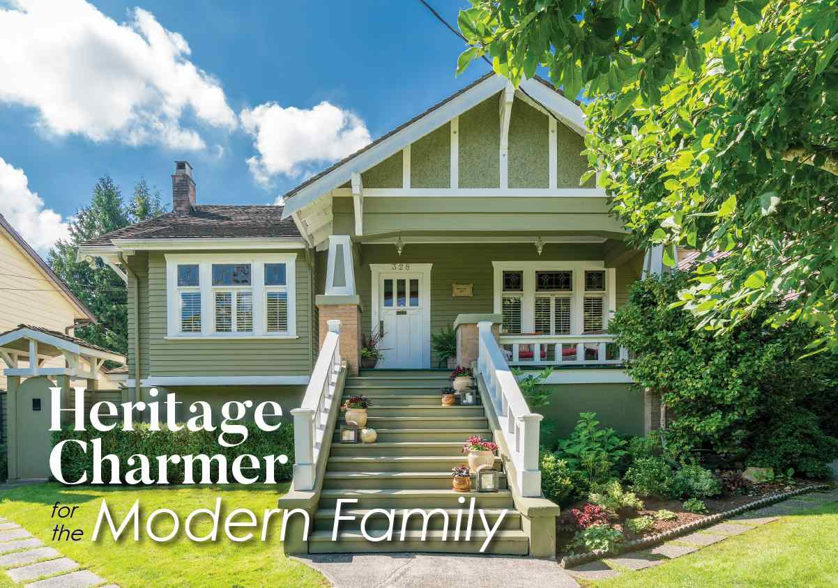 Located in New Westminster's sought-after Queen's Park neighbourhood, this charming 1927 Craftsman home boasts 4,700 sq. ft with 5 bdrms, 3.5 baths, including luxurious new master bath, cross-hall living and family rooms, each with cosy F/P, large D/R, media/games room, an updated kitchen w/French doors leading to a private backyard with built-in Viking BBQ and surrounded by manicured landscape ? it?s the perfect outdoor entertaining space! Thinking of making a move with parents? The in-laws will love the ground-level 1-bdrm garden suite with sep. storage, laundry and private side courtyard. The basement suite also makes the perfect mortgage helper or nanny space. Lane access with single detached garage and addt'l parking beside along with ample street parking. Just steps from beautiful Queen?s Park, this turn-key family home is centrally located in one of Metro Vancouver's most commuter-friendly, walkable cities close to schools, shops, and transit. Call today to book your private showing.