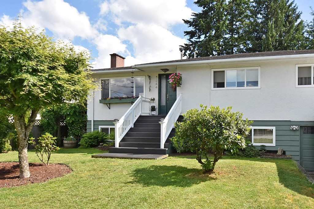 Beautiful 6 bedroom Upper Deer Lake home within walking distance to Highgate Village,  Skytrain, Community Centre and a few minutes to Metrotown.   L R with gas F/P, hardwood floors, DR with French Doors that open to a gorgeous private south facing deck and private fenced yard. Spacious Family Kitchen with sit up bar, cork floors and tiled backsplash. Master ensuite with pedestal sink, sunken jetted tub and skylite. 1 bedroom suite down +2 additional bdrms, 4th bthrm, laundry room, storage & workshop.  Lovingly cared for.. Large R5 Lot- Build 3982 Sq. Ft. + 452 St. Ft. garage.  Potential for stunning Mountain View.  This property has a ton of potential!  Walk to Morley Elementary.