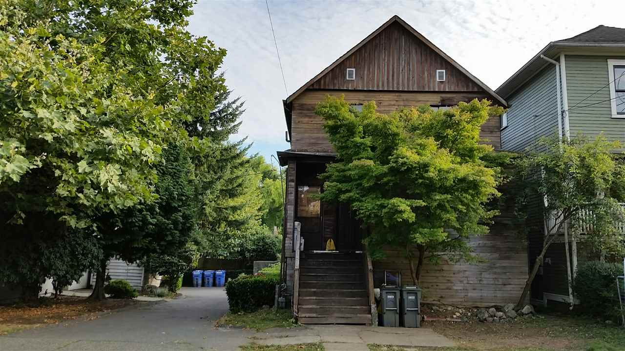 """Great location. Half block from trendy shops and restaurants on Commercial Drive. Less than 1 block from McSpadden Park and short walk to Queen Victoria Annex. House needs extensive work. Property sold """"AS IS WHERE IS"""". First viewing is on Sunday, Sept 17th @ 2PM-4PM."""