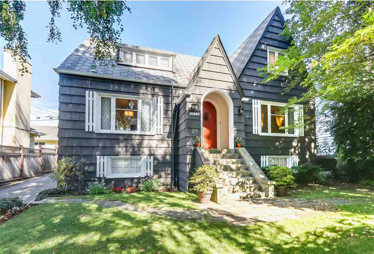 """South Granville Character Home! Charming """"circa 1927"""" home on a private 50x112 (5600SF) RS-1 property! Nestled in the heart of prestigious S. Granville. Located steps from the Arbutus Greenway! This character home features yester-year's charm, with today's modern comforts. Featuring a traditional cross-hall plan with formal living and dining rooms. Gorgeous original hardwood floors with inlay. Wonderful family home has been updated over the years. Plenty of room for the growing family with a renovated modern kitchen & bathrooms, 5 bedrooms, with one on the main and lower level family room. Mechanically updated in 2009 with new electrical, plumbing, Hot Water on Demand, Furnace. Live, hold, or build your dream home. Walk or cycle on the Arbutus Greenway to Kerrisdale! Short walk to Choices, Safeway,shopping & transit. Enjoy the neighbourhood's parks! Minutes to the finest West-Side Schools- Magee, McKechnie, St. George's, Crofton, York House, St. John's. Short ride to UBC, Beaches, Van, YVR & Rmd. Open Sat 2-4"""