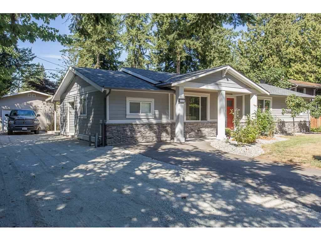 COMPLETELY REMODELLED BROOKSWOOD RANCHER ON A 1/4 ACRE. Located across the street from Belmont Elementary. Stunning new kitchen with stainless steel appliances, island, pantry & quartz countertops. New: flooring, light fixtures, paint, exterior hardy board, roof, stamped concrete patio, landscaping, driveway, beautiful new ensuite, wood feature walls, barn doors and much more. Bonus 18x40 Garage/workshop! Nothing to  do here but move on in. Quick possession  possible. Come see  for yourself.