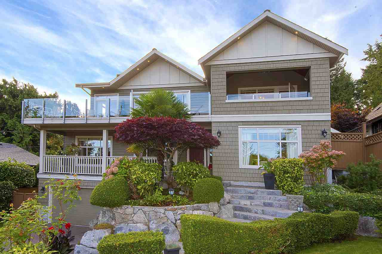 Fabulous one owner, family home, with ocean views, nestled in the heart of West Bay. Recently remodelled, gorgeous chef's kitchen, Sub Zero fridge, DCS gas range, and more. Walk out to covered patio, and beautiful, private landscaped gardens with covered hot tub. This beautifully designed home has 2 master suites, one on main floor. Upstairs feat. two semi-ensuited bedrooms, and the pi�ce de r�sistance - a master suite boasting a spacious W/I closet, vaulted ceilings, wine bar, fireplace, and private wrap-around deck with views to Ocean, Stanley Park, Kits, and Jericho. The 6 piece spa inspired ensuite includes a soaker tub, steam shower, heated tiles, white marble countertops, and private heated deck. In-floor heating throughout. West Bay catchment, walk to Beach.