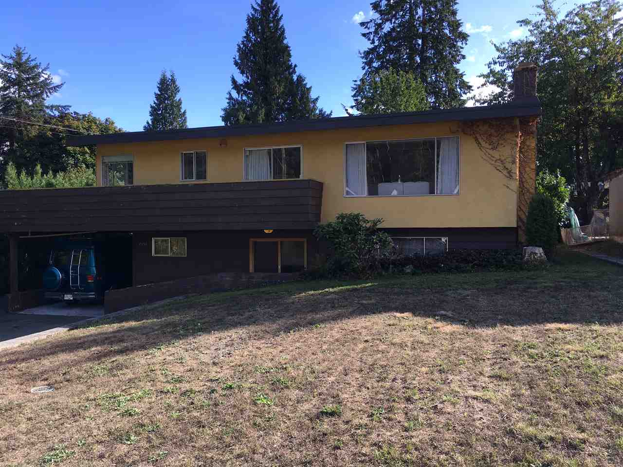 Huge lot on one of Coquitlam's most desirable areas of Mundy Park. 3 Bdrm family home with unfinished bsmt awaiting your ideas, could be suited, in need on some TLC. Hardwood under carpets on the main floor. Newer furnace, roof, kitchen and H/W tank.
