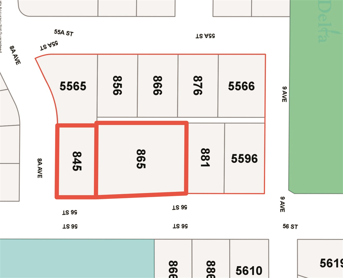 Winskill Gate - land assembly presents a fabulous opportunity for future development as the town centre of Tsawwassen expands! Part of a block measuring 2 acres of which 80% is currently listed on MLS (R2206527, R2198462, R2198304, R2188468, R2198465, R2198484). The site is near Winskill Park including popular Aquatic Centre, sports fields, lawn bowling & acres of vibrant green space. Walking trails and safe sidewalks connect to shops and town centre. The site is on a public transpo line & close to new Southlands neighbourhood & access to Centennial Beach. Pursue development possibilities now or invest to land bank for future profit as the need for higher density zoning & housing variety increases in Tsawwassen! Enquire with agent for further details.