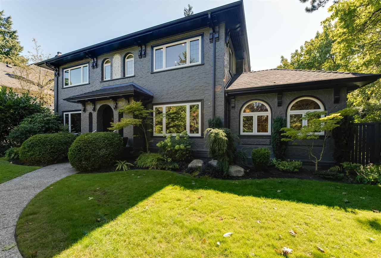 Fabulous opportunity to move to the highly desirable neighbourhood of Shaughnessy. This classic four bedroom family home sits on a large 70.5? x 150? CORNER lot minutes to some of the best public and private schools in the city. Features include elegant principal rooms, a large updated kitchen, stunning master bathroom, finished basement rec-room and nanny suite with exterior access, and brand new roof. Move in ready, renovate, or build new - a property with endless opportunities.