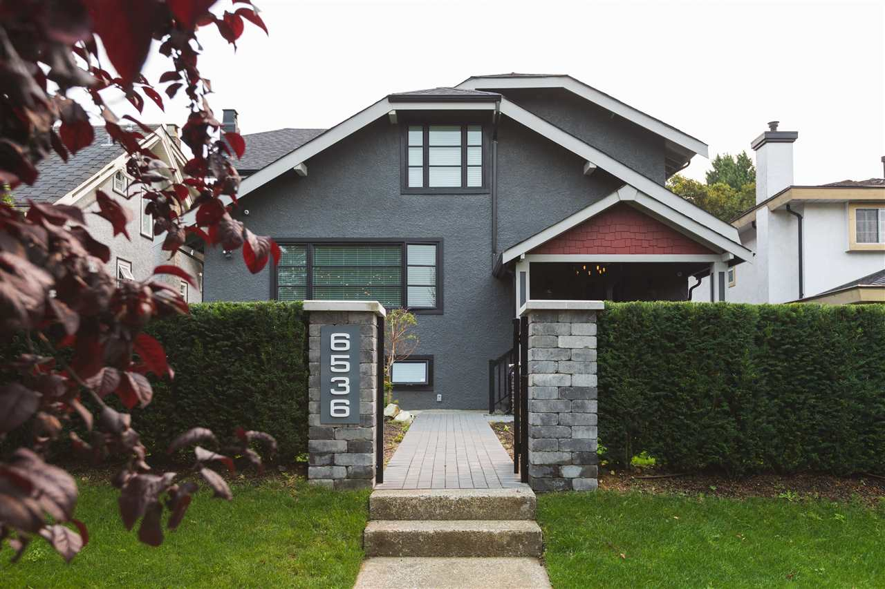 Beautifully fully renovated West side home in the South Granville area. Your very own basketball court in your backyard. Quiet street and great location! Great revenue producing suite.  Please contact seller for any questions or showing requests. Measurements are approximate. Basement suite is tenanted. Confirmed non-character home.