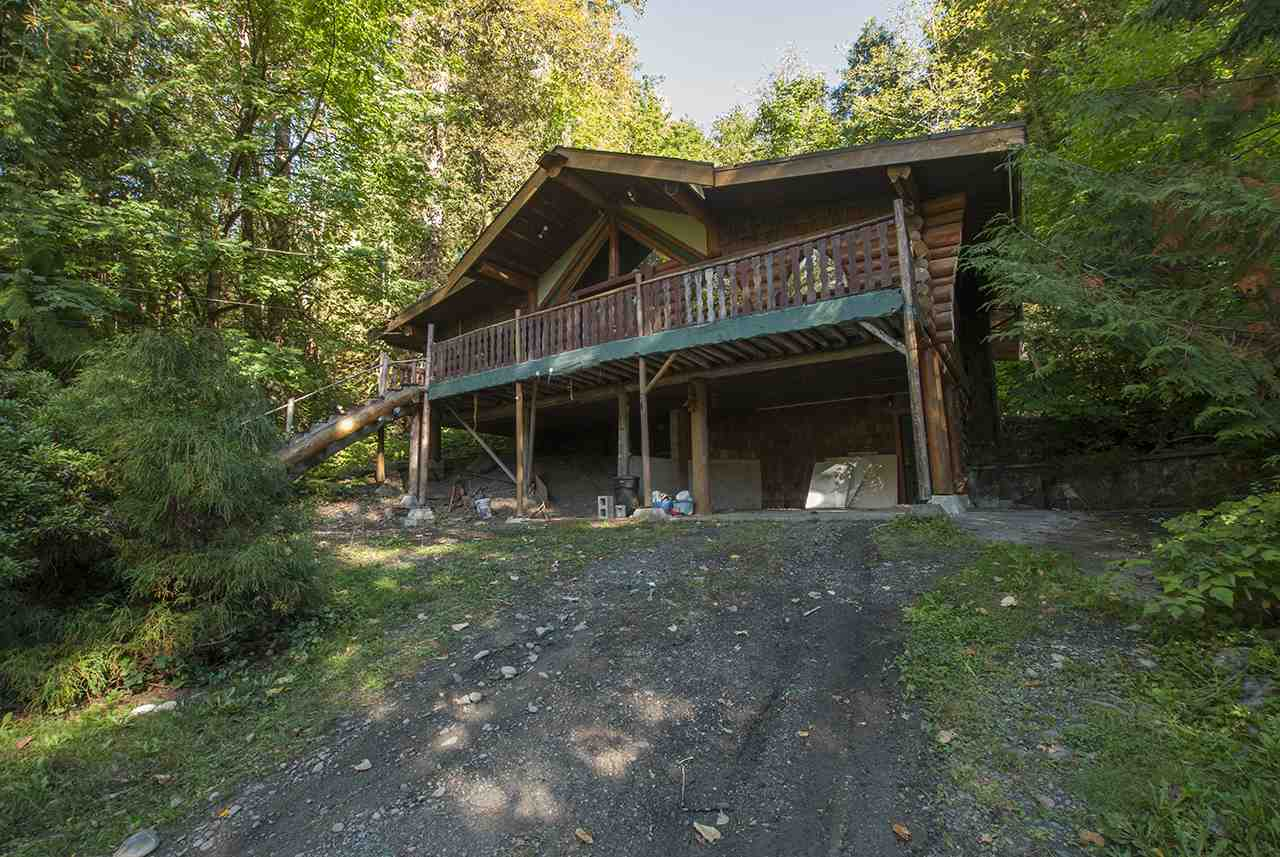 Private rural setting close to the Vedder River. Close to fishing, hiking, lots of room on site. Property is approx. 4.88 acres with about 2 acres of usable land. Home damaged in slide in 2009. Property is priced for land value only.