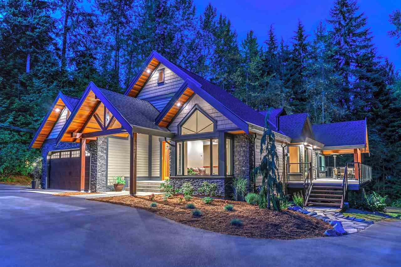 Welcome home. This beautiful, Whistler inspired post and beam house sits on a private one acre lot tucked away in Garibaldi Heights. It has been completely renovated and boasts; full cedar soffit, a brand new thirty-year roof, zoned in-floor radiant hydronic heat, energy efficient windows and fireplaces, engineered hardwood flooring, a home theatre with surround sound, and a new kitchen with a 36'' professional gas range. The lot is big enough for RV parking and all your toys but is serviced by City gas and water.  With additional craftsman touches like custom barn wood doors and barn wood stair railings throughout the home this property is truly unique. Come and experience this masterpiece for yourself, book your private showing today.  SOLD FIRM