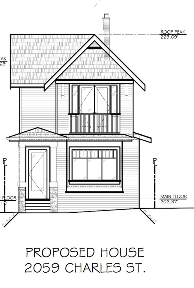 ATTENTION BUILDERS & RENOVATORS: Unique RT-4 Zoned Multi-Family property only a few months away from accepted City of Vancouver Building Permit submitted by prominent Vancouver Architect Eric Stine. Why wait 14 to 16 months for a City building permit when you can have one right away and an amazing project property to start building your dream home IMMEDIATELY! This home is only blocks away from trendy Commercial Drive! This one won't last call now for immediate access and showings.