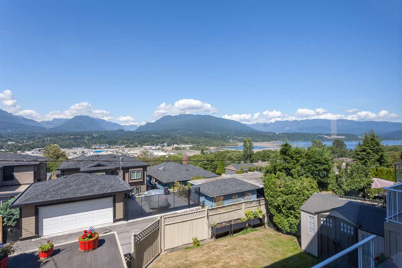 Stunning ocean and mountain views spanning from West Van - North Van and up Burrard Inlet, ever changing landscape to enjoy at any hour of the day. Whether it is snow capped mountains or a technicolour of lights in the evening this is a view that must be seen. Large windows and tons of natural light accentuate tasteful renovations that include pot lighting, painting and updated kitchens and bathrooms. Boasting 3680 sq ft and 6 bedrooms this home is ready for a growing family, those looking for a two bedroom mortgage helper or someone looking to add a phenomenal view home to the portfolio of investment properties. A steadfast 50? lot by 122? deep provides you with the opportunity to build your dream home if you so choose. Situated in Vancouver Heights you will find yourself in a niche community filled with block parties, kids on bikes and games of road hockey. Amenities are abundant with two dog parks, shopping, lawn bowling, community centre, library and a mini train station are all within walking distance.