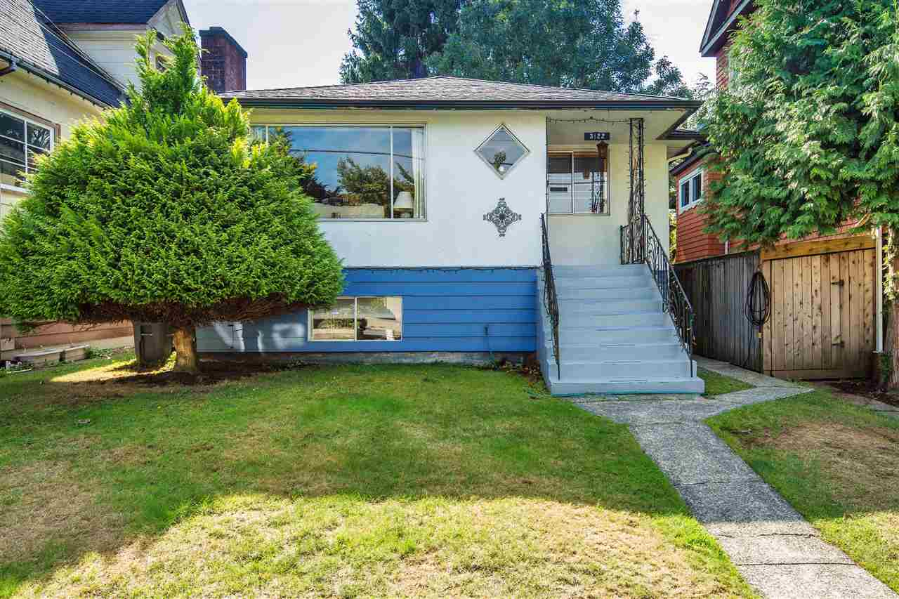 Superb value on this superbly situated home located on a 33 by 103 foot lot at quiet 3122 West 47th Ave. This residence features 2 bedrooms up plus a 2 bedroom suite down. Centrally located close to Killarney Recreation Centre, excellent Bus & Transportation routes, Skytrain station nearby, Champlain Square Mall, 5 mins to Metrotown or Central Park. Note new roof 2015 on this well kept affordable family home in the Weir elementary school district and Killarney Secondary School district.  Hurry on this one!