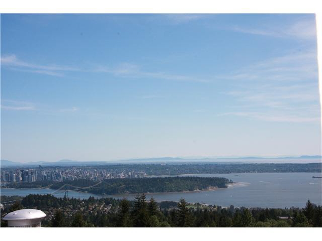 Spectacular panoramic view lot- spanning Burrard Inlet, Lions Gate, downtown Vancouver, Stanley park and across Georgia Straight. This is a rarely available 21,000 sqft lot ideal to build a custom dream home ? as many neighbours have - in this prestigious Chartwell neighbourhood.  Build or hold this tenanted property for future plans.