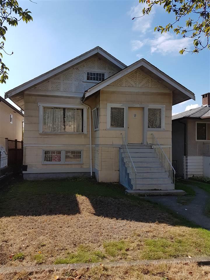 Builders, Investors, and first time buyers. Fantastic location on a 33 x 124 flat lot. Conveniently located home by TNT Supermarket, restaurants, and within walking distance to Skytrain station. Stroll to parks and community centres in the area. There are many different levels of schools within the neighbourhood. Call for details.