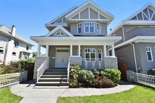 Quality built home, Well Maintained, 5 bedrooms and 5 bathrooms, suite potential in the basement, spacious layout. Steps to shopping, library, restaurants and transit. Catchment schools (Magee Secondary School, Dr. R.E. McKechnie Elementary, Churchill Secondary French immersion).