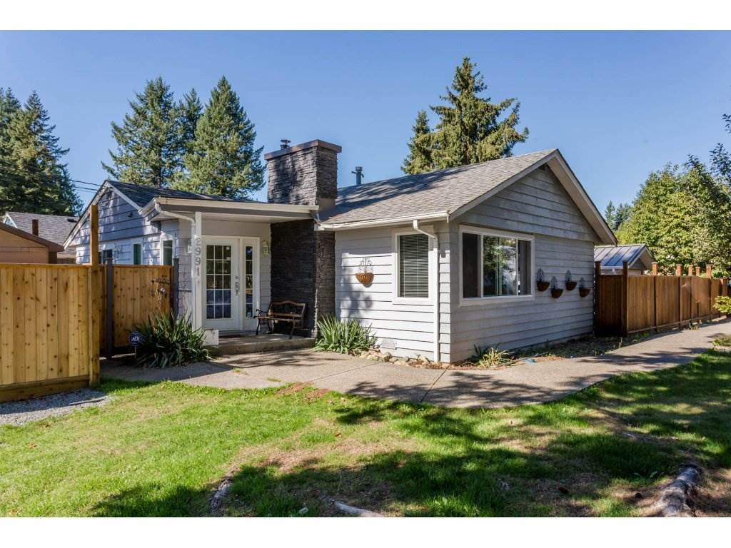 Corner lot, 3 bedroom 2 bath rancher in quiet treed neighbourhood close to recreation, shopping and schools. This great family home has fenced yard and plenty of parking plus a 12x30 shop/garage (wired, water, gas) to putter in. Beautiful park with playground directly across the street.