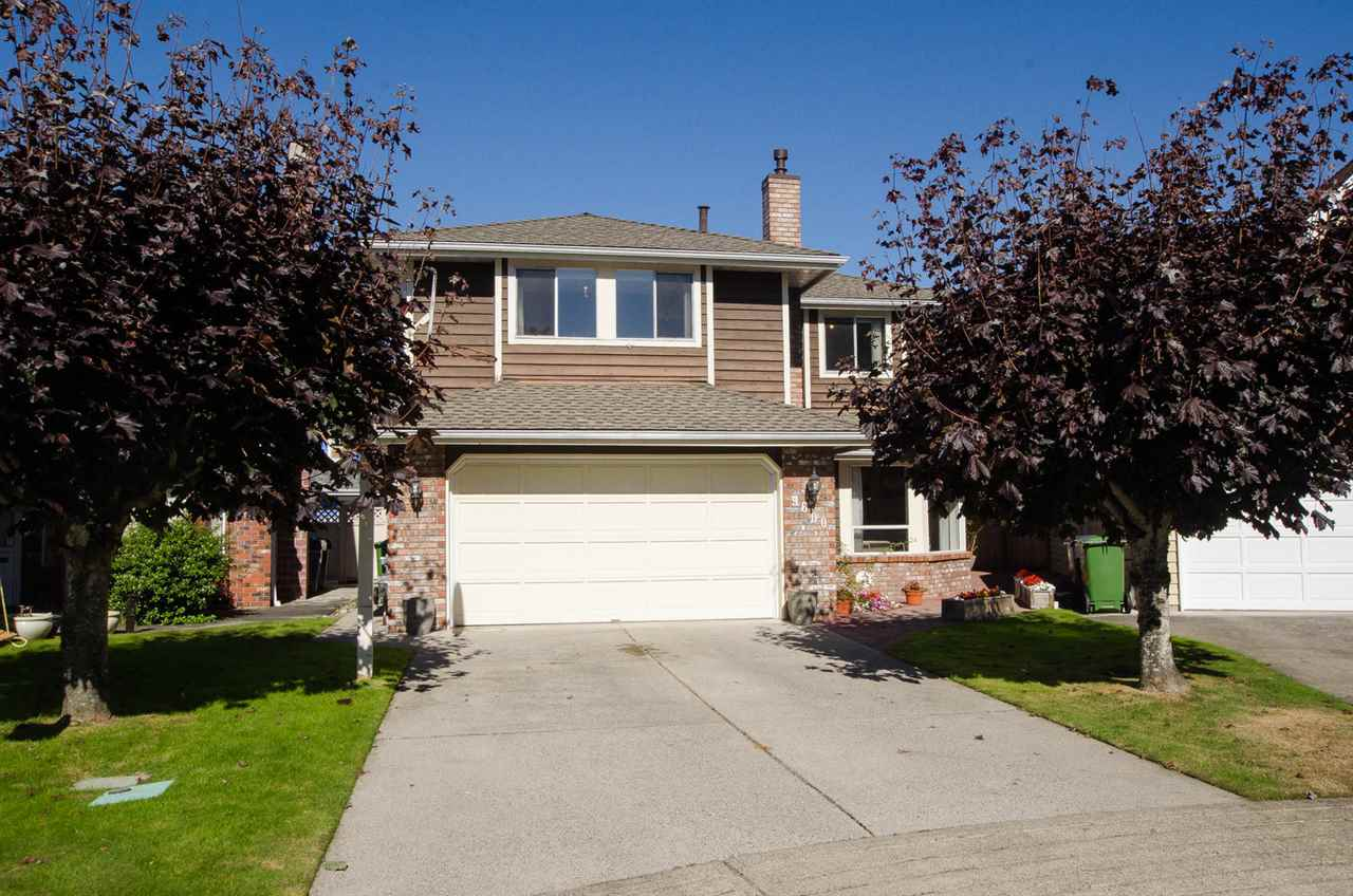 Outstanding condition lovingly cared for original owner custom built home situated in a choice cul-de-sac in much sought after 'ASHLEY MEADOWS' subdivision in a fabulous location near No. 2 Rd and Woodwards Rd. Main floor features a cross hall living & dining area, gourmet contemporary kitchen with granite countertops & S/S appliances. Family room with sliders to a fully fenced private yard, plus a good size den/office. Upper floor with huge master with deluxe 5 piece ensuite and 3 more ample sized bedrooms. The home has been professionally renovated in the last few years and shows beautifully. Excellent catchment schools - Wowk Elementary, Steveston-London Secondary, Dixon/Diefenbaker for French Immersion. All in all, a choice home in a choice family area! OPEN SUN OCT 29 2-4 PM
