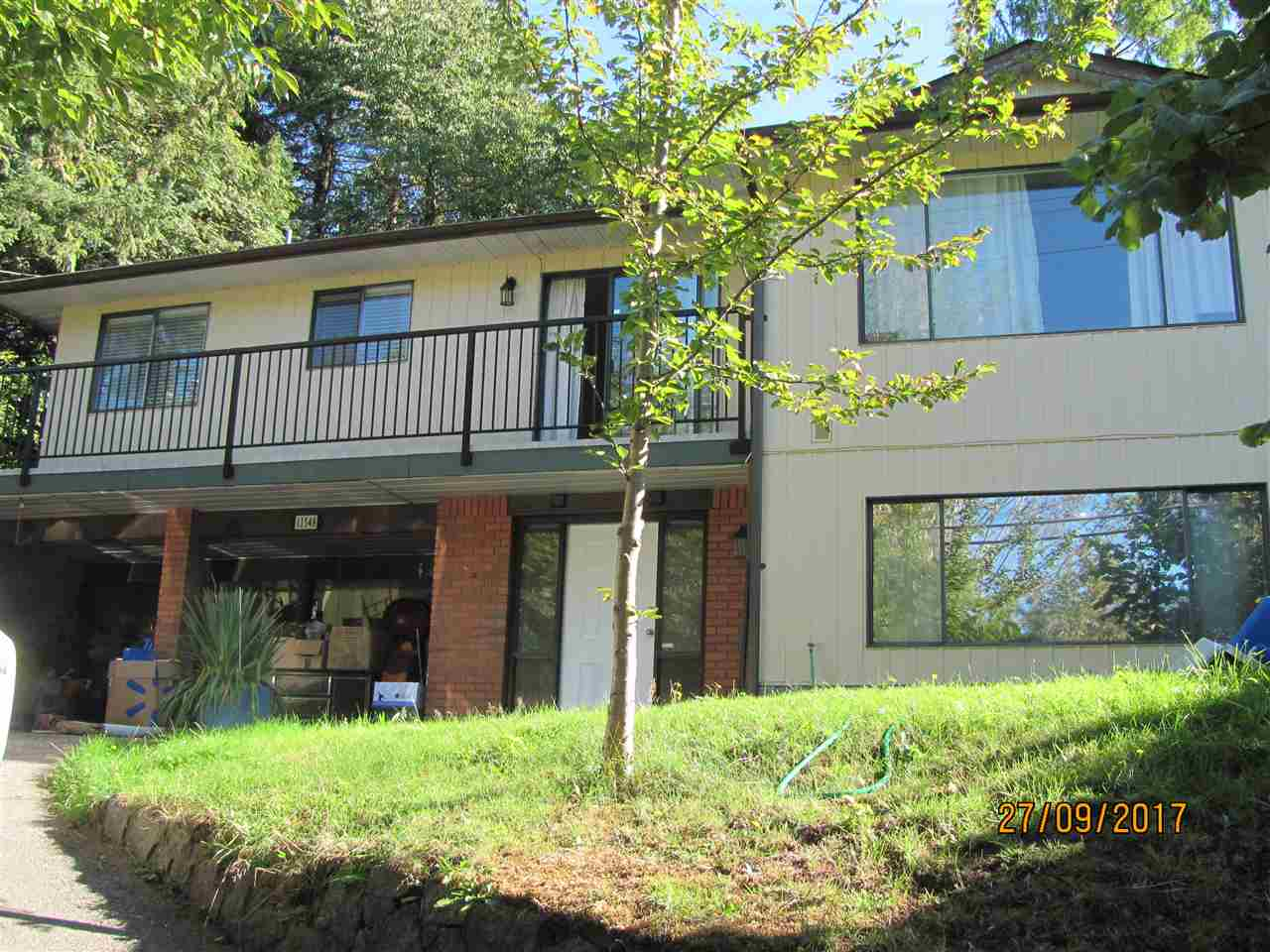 2-level spacious ground floor entry home in royal heights. On the top floor, 3 bedrooms, 2-piece ensuite bathroom and a wrap around deck from dining room to the kitchen with access to the back yard. On the ground floor, a large recreation/family room 26x11, summer kitchen, 3-piece bathroom and a storage room; can convert to an inlaw suite. 2 wood burning fireplaces. Fenced back yard; great for kids and pets. Close to Royal heights elementary. potential view if trees in front are cut down. 2-car carport. House was renovated 5 years ago. Roof is 3 years old. Easy access to hiway 17 and 91; 25 mins drive to Richmond and New West. 10 min bus to Scott Road Skytrain stn. Excellent first home and investment property.