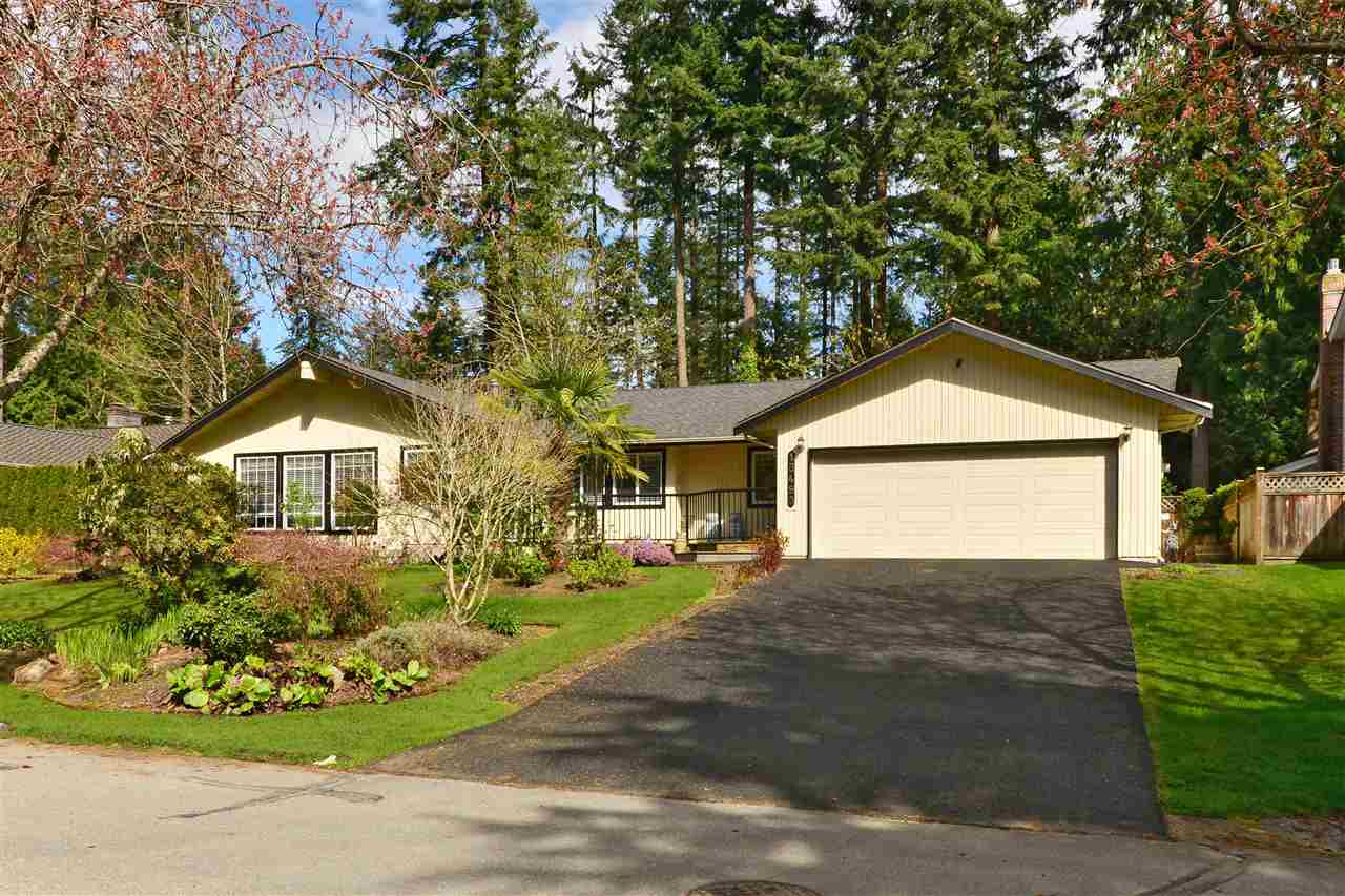 AMBLE GREENE-Exceptionally located & well maintained Rancher, 3bd/3ba, 2,258sf home on a 9,234sft lot. Spacious entrance greets you w/oak flring, living room w/vaulted ceilings, gas fireplace & large picture window looking out to green space. French doors open to cross hall formal dining. Good size bdrms incl mstr w 4pc ensuite. Bright lrg kitchen & eating area w/electric f/p, stone counters, g cook top, lots of cabinetry, & sky lights providing an abundance of natural light. Step dwn to the family rm/solarium w/lots of windows, wood stove & French doors out to wonderful private backyard w covered & exposed patio. lovely manicured garden & Koi pond w waterfall. Excellent home for downsizer, young family or investors. Call.