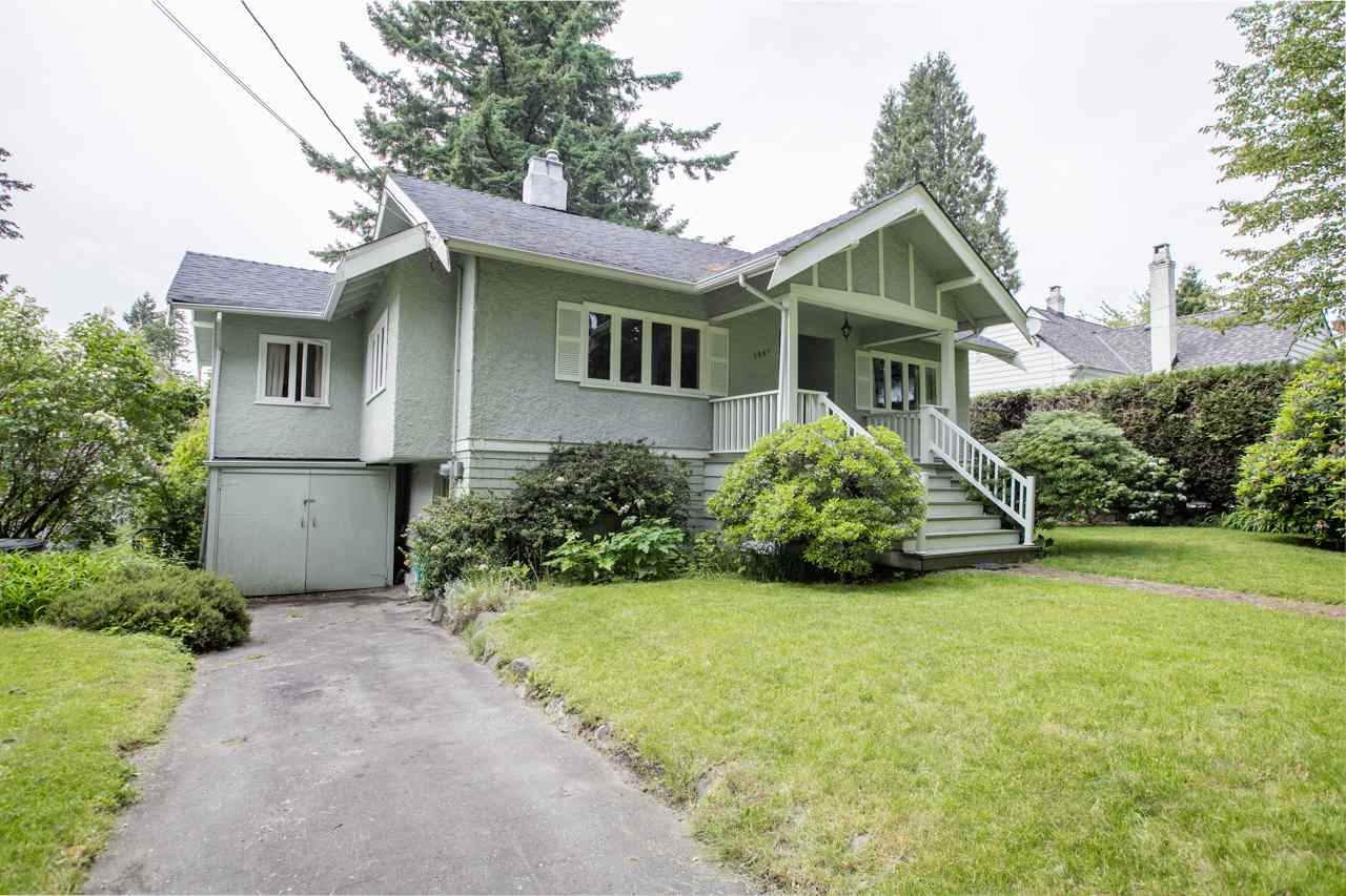 Builder / Investor Alert! This house is located in popular neighbourhood Dunbar.  Nicely situated on 70.12' x 122' (8554.64 sqft) property on the beautiful  tree-lined street. First time on the market. This location is perfect. Short walking distance to Dunbar community centre, Balaclava park, transit & shops/services/cafes on Dunbar Street for your convenience. Best schools nearby are Kerrisdale Elementary, St. George's & Crofton House. Easy access to UBC, Kerrisdale Village, golf club, beach parks etc. Great for live in or rebuild new house. This is an amazing opportunity property you can't miss! Open house: Oct 5, 12-2pm.
