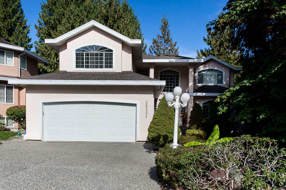 Gorgeous 2 Storey w/ Bsmt home in one of the best neighborhoods of East Abbotsford. This home features 6 bedrooms/ 5 bathrooms, huge living room, dining area, modern open kitchen concept with quartz counter tops & tons of storage, family room, wide entrance, den, rec room, laundry, big sunny sundeck & a private backyard for entertainment. Other features- teak wood flooring on main level, Duravit toilets & sinks, steam shower in the Master, Air conditioning heat pump, heated floors in bathrooms on main and above levels, 4 gas fireplaces & much more. Close to schools, shopping, recreation, parks, restaurants & easy access to freeway. Call to view now!