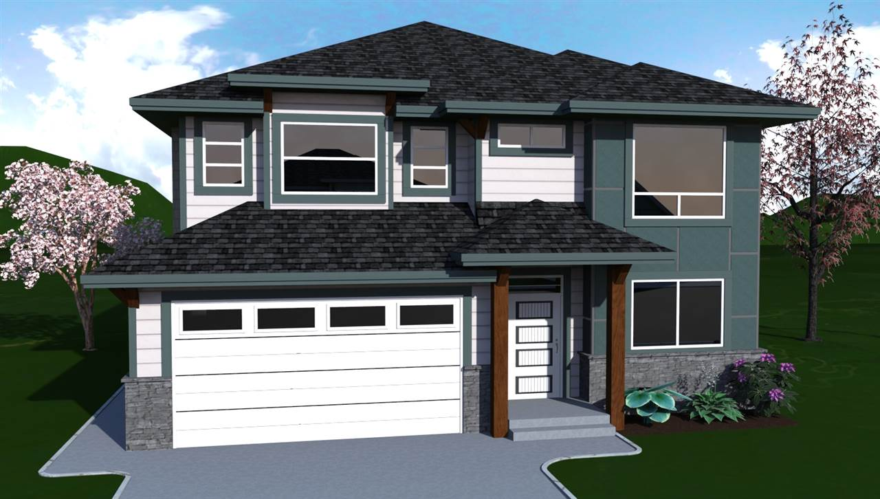 Welcome to River's Reach, the newest and most impressive development in Hope with amazing panoramic mountain views and only minutes to the Coquihalla River, Kawkawa Lake, schools, nature/mountain bike trails, fishing, boating golf and hospital. This 2850 sq. ft. basement entry home features an open concept design, gourmet kitchen with quartz counters & custom cabinetry, designer lighting & tile work, and quality finishing throughout. Master suite is spacious with a tray ceiling & spa like 5 pc bath. Basement is fully finished with huge rec room and two more bedrooms.  Zoned for Legal Suites. Large 19'4 x 10' deck off the back of the house. Built by award nominated Steele Properties Ltd.