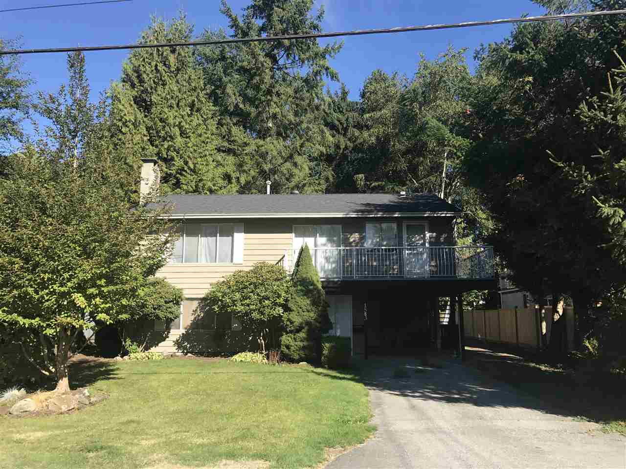 HUGE FLAT LOT ON VERY DESIRABLE STREET. HOUSE IS READY FOR YOUR RENOVATION IDEAS 3 BDRMS UP & POSSIBLE 1 OR 2 BDRM SUITE DOWN, 2 YEAR OLD ROOF CLOSE TO ALL AMENITIES NEAR TERRY FOX HIGH SCHOOL.  ALL MEASUREMENTS APPROX. THE HOUSE IS SOLD 'AS IS , WHERE IS' OPEN HOUSE SAT (OCT 21) 2-4 PM