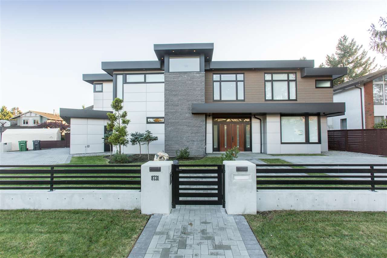Modern custom home built by award-winning VictorEric Design Group. Located in Broadmoor, widely considered the best neighborhood of Richmond. This gorgeous custom home sits in a tucked away quite street block which is only minutes away from central Richmond; it's a true blend of convenience and content. Top notch craftsmanship, equipment and material are implemented throughout the whole house; custom ordered flooring and doors, special ordered Miele appliances(not available in Canada) and MORE! The home is designed with function, form, aesthetic and feng-shui in mind.
