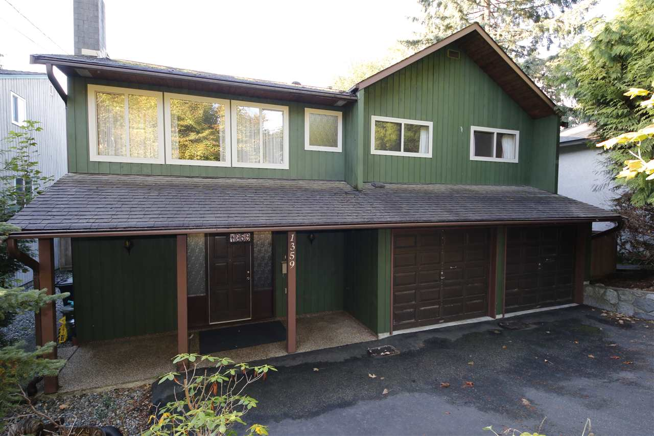 There is a conditional contract currently in effect.  Buyers condition has now been removed. The seller has until Nov. 15, 2017 to remove probate condition.  This 4 bedroom, 3 bathroom family home is situated on a quiet-cul-de-sac is an established neighbourhood in desirable Lynn Valley and features a south-facing, flat, fenced yard. Obviously well-built and carefully maintained (with newer roof and windows), this house is in original condition waiting for a new family to move in and update to taste. The ground level has separate entries and can easily be converted into a very large suite just by adding a kitchen to the huge laundry area. Close to transportation plus Upper Lynn Elementary, Argyle Secondary and Cousteau (French) schools. Hiking and biking trails are close at hand as well as Lynn Valley Community Recreation Centre, the Public Library plus the wide variety of shops and amenities at Lynn Valley Centre.