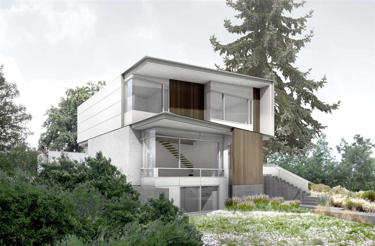 Completion Feb 2018! - Designed by the award winning Battersby Howat, this home sets a new benchmark for quality & contemporary design in BC. This one-of-a-kind 6 bdrm home sits on a 50? lot with some of the best views in the City and just steps from Valdez Park. The open floor plan on the main level is highlighted oversized windows, soaring 10' ceilings & a state of the art kitchen, w/ wok kitchen, entertaining space that combines ultra modern details and sustainability concepts. The top floor incl 4 bright ensuited bdrms & a lrg rooftop deck. The latest technological advances are present in the home including home automation package, solar panels, and rain collection system. Built by Natural Balance Home Builders, Winner of the Grand Georgie for Custom Home Builder of the Year 2016!