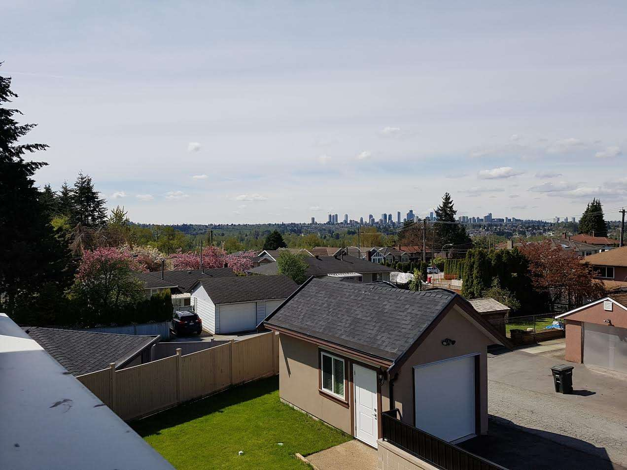 Wow!! This warranteed, quality built 4800+ s.f. new home is on a quiet Montecito street in the Burnaby North Secondary catchment. Prime lot, lane access, view to Metrotown. All 4 bdrms up have a view and are ensuite (master with steam shower), Shower in the main floor powder room, (7 full bathrooms!!), Legal 2 bedroom nanny suite PLUS home theater room with bar and guest bedroom in bsmt. Tile on radiant-heated concrete floors, HVAC, Heat pump, Air conditioning, spicy kitchen, over-height ceilings on all floors, 2 detached garages off the lane makes unique, easy pull-in, way too many features to mention.  Fabulous finishing and attention to detail!!! COMPARE!! UNBEATABLE VALUE & QUALITY!!!