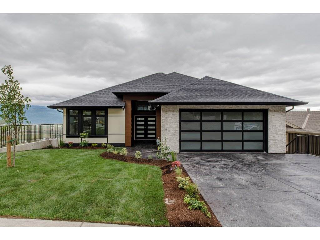 Breathtaking Views of Mt. Baker from every floor. This brand new 3584sf home is an entertainer's delight. The entry opens into an open living room/kitchen area with expansive windows with the most beautiful views. The master is on the main floor, along with a guest bedroom. Below you will find a huge rec room with a wet bar, overlooking Mt. Baker, and 3 more guest bedrooms. This home has lots of room to entertain, with 2 huge decks (also with views) spanning almost 700 sf, and a bonus theatre room. Only minutes away from recreation, shopping and hwy 1.