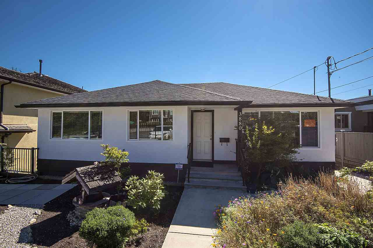 This COMPLETELY renovated home is situated on almost 1/4 of an acre and is conveniently located close to Vancouver & the River District.  All renovations & improvements was done with permits and by qualified professionals. The main level feat over 1100 sq.ft. of living area & incl 3 bdrms + 1 full bath. It boasts gorgeous refinished oak inlaid floors in all principle rooms. The kitchen has new appliances, countertops, & cabinets. Off the kitchen is a huge 434 sq.ft. south facing sundeck w/new plywood & membrane as well as new alum railings. All windows in the home have been replaced as well as the roof, perimeter drainage, concrete retaining walls, electrical, plumbing inc new 5 zone hot water on demand radiant heating system. Below contains a 1 bdrm + den and over 1100 sq.ft. w/kitchenette & separate entrance; this can easily be a mortgage helper. Bonus is a separate studio perfect for home based business and a triple car garage. This is a 10+.