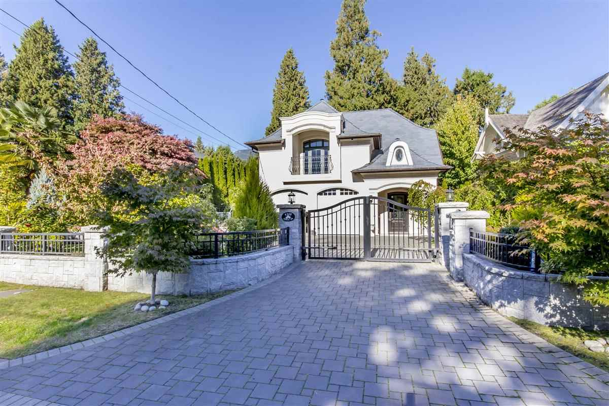 Semi waterfront, bright, south-facing 4 year old property sits on the prestigious Golden Circle of Erwin Drive.  Tranquil with easy access to Stearman beach.  Family friendly and in the catchment of highly ranked West Bay Elementary School, Rockridge Secondary School and just minutes drive to private schools.  Designed by renowned Marque Thompson and custom built with extra concrete, steel and top notch craftmanship and quality material. 5 bedrooms, 6 bathrooms, 4000 sq.ft. of luxury living space.  High ceilings, home theatre and wet bar, high end appliances, wok kitchen, air conditioning, radiant floor heating, HRV system and back up generator.  Ski hill nearby and close to public transit.  A rare gem!