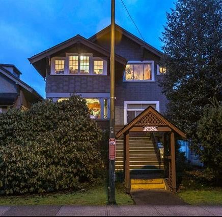 """Kitsilano location across from Tatlow Park with lane access. RT8 zoned property. Showings with 24 hour notice. All tenants are on a month to month tenancy. SOLD """"as is where is"""" LAND VALUE."""