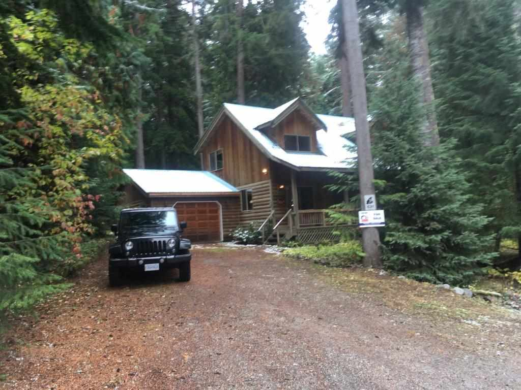 Warm and comfy Chalet nestled among large trees with babbling brook at back. This immaculate home includes 4 bedrooms plus loft and 3 bathrooms, great for extended family and entertaining. Good workshop. Easy to show 2 hrs from Vancouver to this Sunshine Valley paradise! 15 min to Hop & 45 min to skiing at Manning Park.