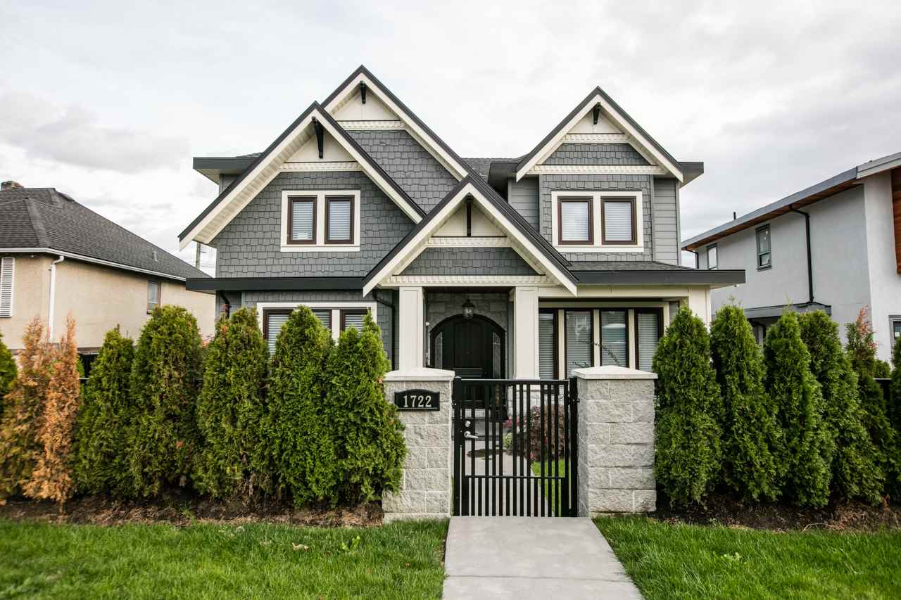 "Urban luxury located in ""West End"" - one of New Westminster's most desirable neighbourhoods. A classic style perfect for a family! Custom high-end woodwork, engineered hardwood flooring throughout. Chef's kitchen is equipped w/ an eat-in island, sleek granite countertops, Maple cabinetry & a suite of SS appliances including Thermador / Kupperbusch. 3 good-sized ensuite bdrms & laundry upstairs / 1 bdrm on main flr. The basement: huge recreation room w/ wet bar, 1 ensuite bdrm & 2-bdrm legal suite w/ separate entrance. The backyard w/ built-in BBQ & pit fire is ideal for entertaining large event & plenty of space for outdoor dining. Features include A/C, HRV, security system, smoke alarm, lighting (in/out), 3-car garage etc. Easy access to skytrain, Taylor Park Elem. & New Westminster Sec."