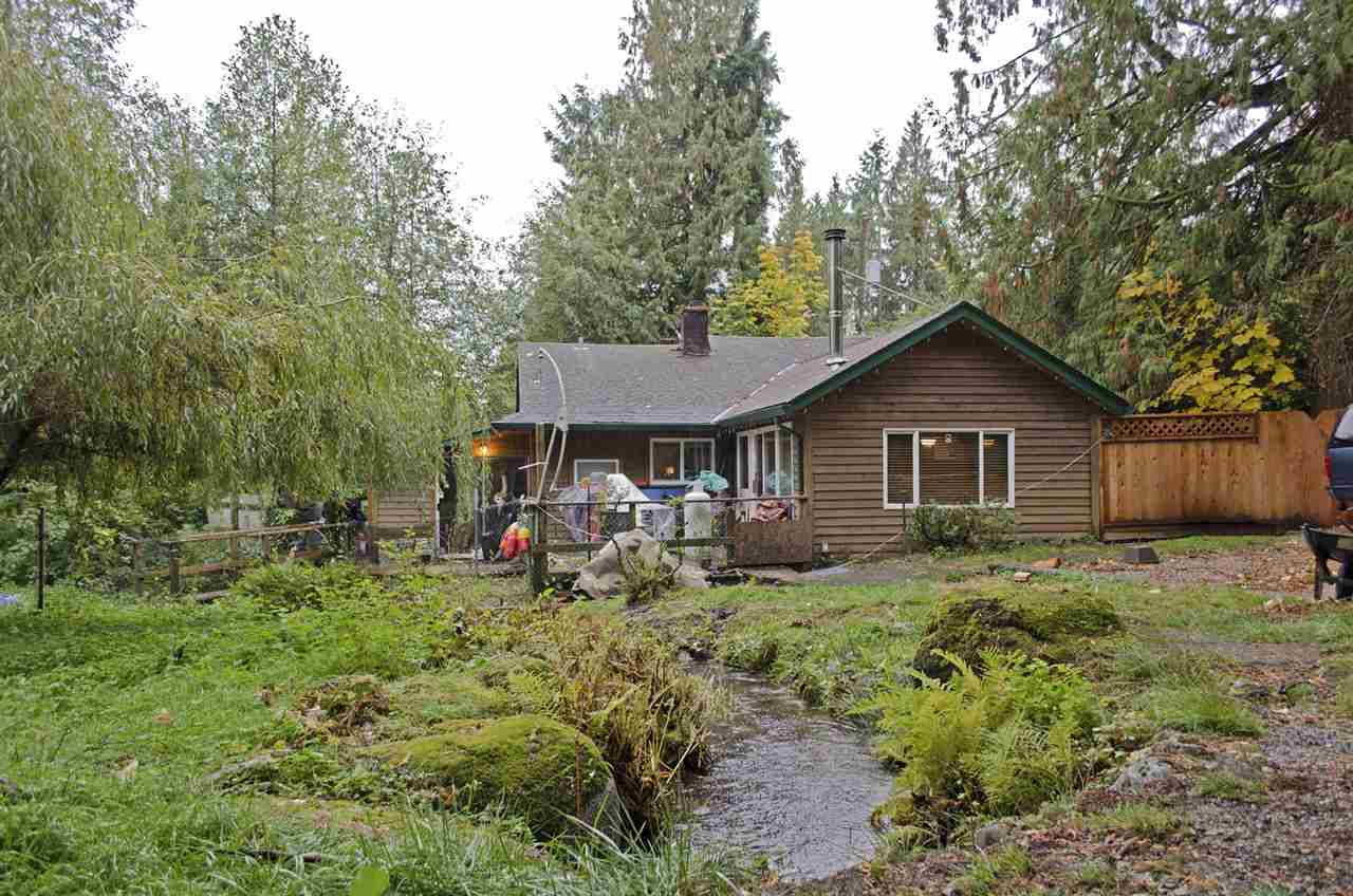 LAND VALUE! Bring your ideas and build your dream home! Enjoy the privacy of the great outdoors while being only minutes from the convenience of town. This 1.73 Acre property features plenty of space for a growing family, pets and more. A large garage/workshop and babbling creek are also found on the property. Keep the current home for rental income or a house for out of town guests! Minutes from Whonnock Lake, Stave Lake and equestrian trails for outdoor enthusiasts. Schools, Shopping and more only a short drive. Showings by appointment only - call today!
