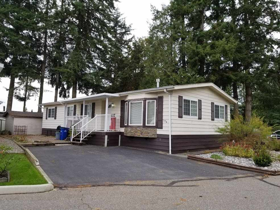 Your search stops here with a 3 bdrm, 2 bath manufactured home in highly desired Langley Grove Estates. Interior features include an open floor plan, kitchen with granite counter tops and stainless steel appliances. Many updates including new roof, flooring, and plumbing. Spacious master bath has soaker tub to enjoy after a long day! Enjoy your morning coffee on your huge 18'x8'9 sundeck. Located right beside green space, close to clubhouse, and next to visitor parking. Bring your kids - no age restrictions and bring Fido - 1 small pet allowed. Club house includes a full kitchen, pool table, fitness room as well as a hot tub and sauna. Other features include onsite walking paths and gazebo.