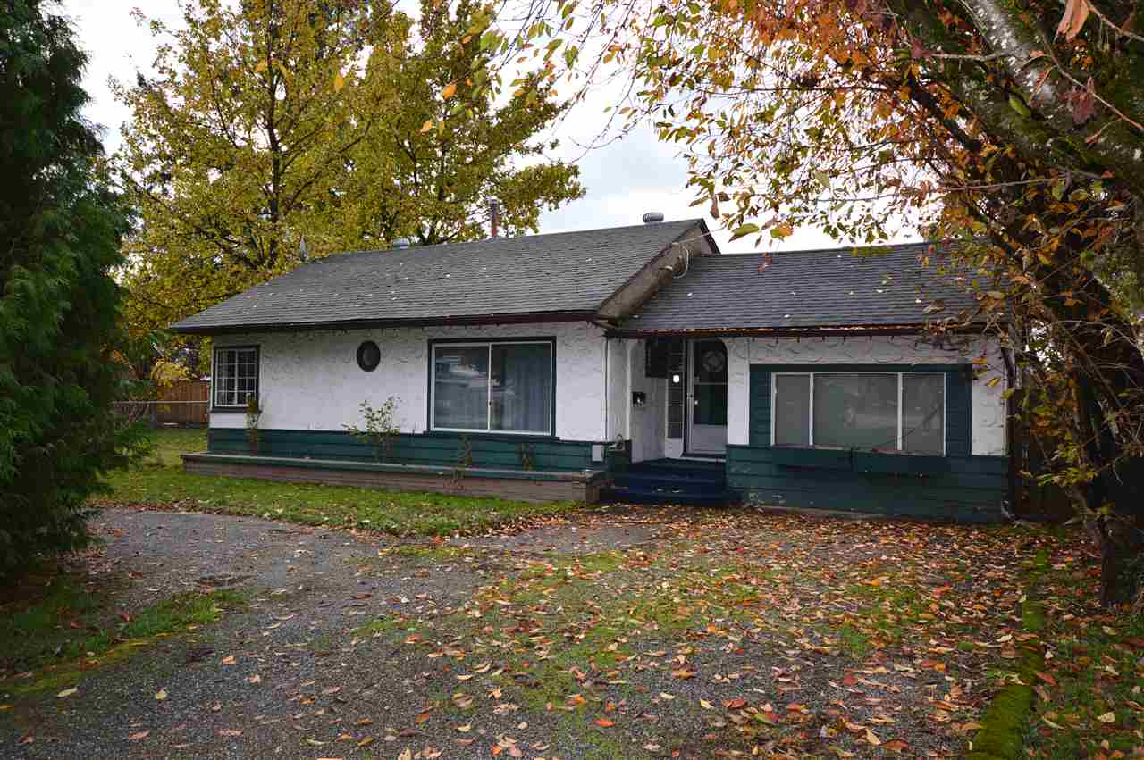 BUILDERS/INVESTORS ALERT! Lots of character in this 1948 3 bdrm, 1 bath Rancher home on Large .24 ACRE fully fenced lot. Enjoy the large sundeck in the private backyard with lots of trees and mature landscaping. Close to all levels of school and all amenities. Lane access and 108 feet of frontage. Close to all amenities. Please call for your personal tour.